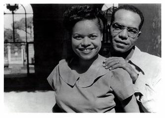Barbara and Ulysses Kay in Rome, c. 1950