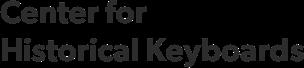 Center for Historical Keyboards
